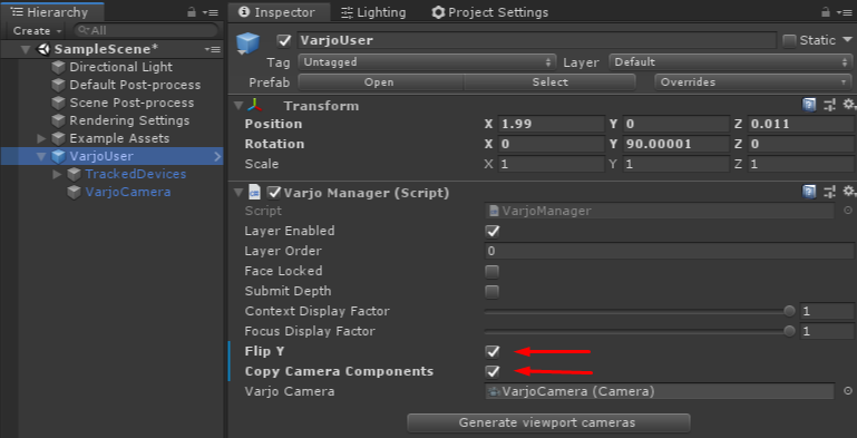 Creating a Unity project using HDRP – Varjo com