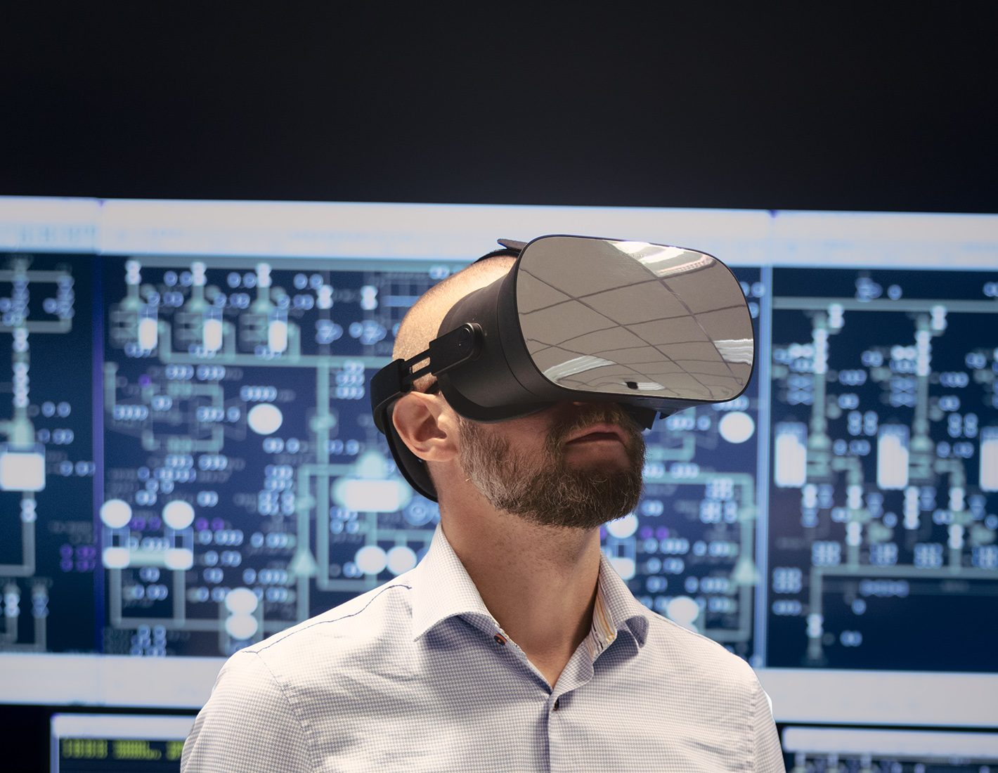 Bergroth with Varjo VR-1