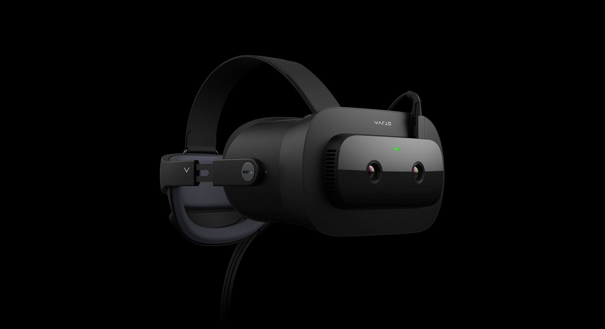 Varjo XR-1 Developer Edition is a mixed reality device with photorealistic visual fidelity, integrated eye tracking, and ultra-low latency.