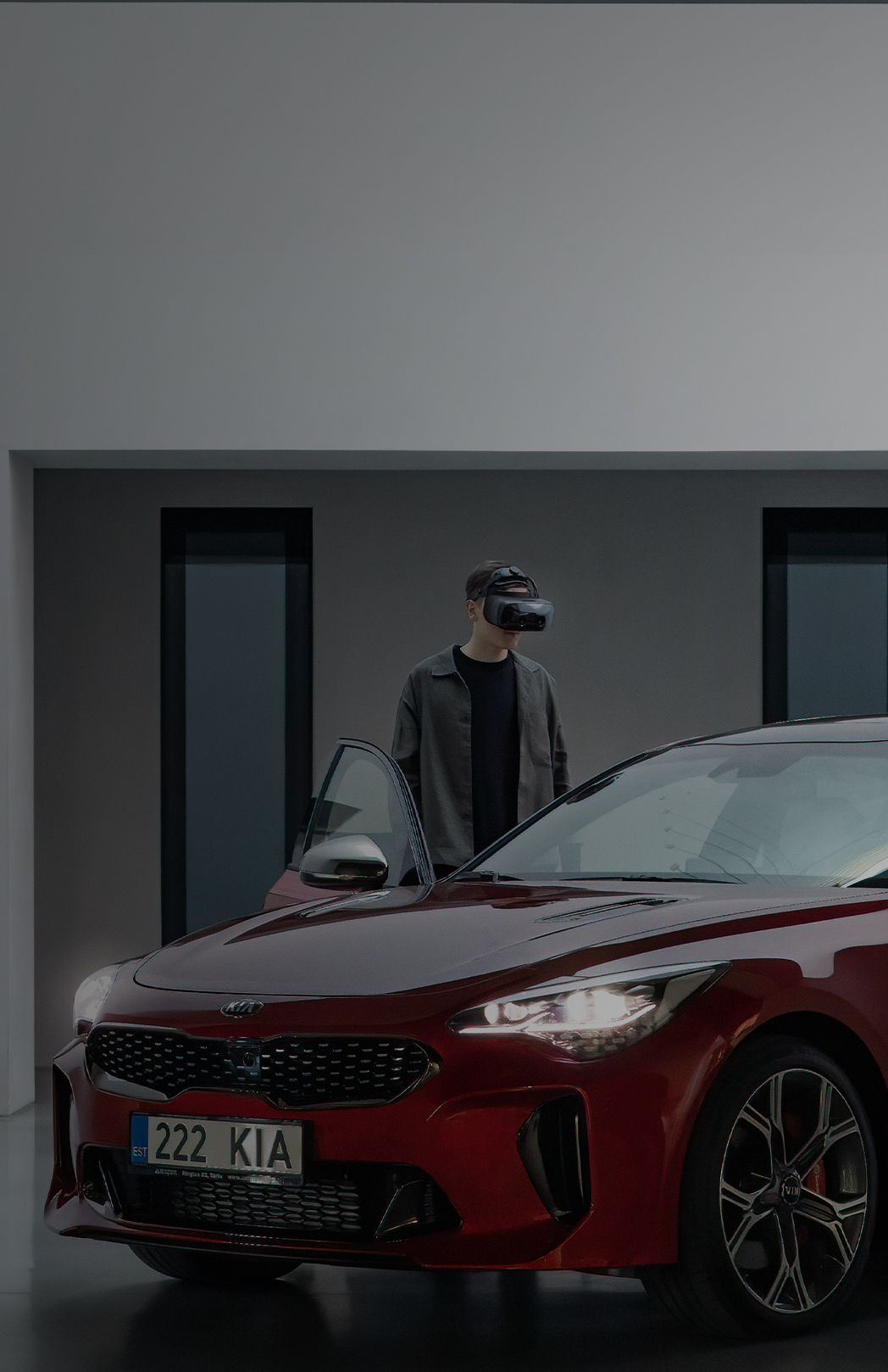 Highest-resolution augmented, virtual & mixed reality headsets for automotive design